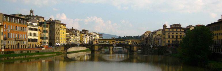 Fabulous Florence - Ponte Vecchio from the Ponte Santa Trinita - Florence