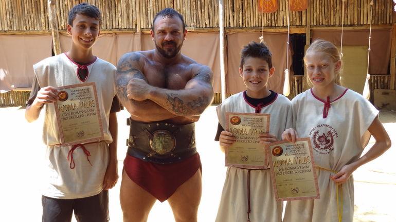 Gladiator School - Rome