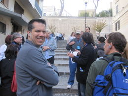 The tour is about to begin - we listen to our guide to get directions. , Kevin M - October 2011