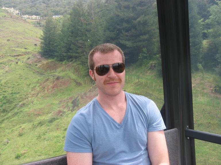 In the gondola2 - Rotorua