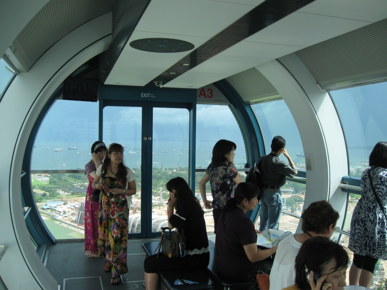 inside the capsule - Singapore