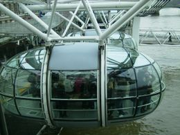 London Eye, just after take off!!, PAULA W - February 2009