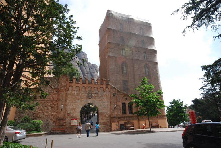 Montserrat's Entrance Archway - Barcelona