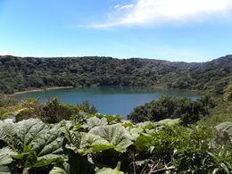 Laguna Botos, the southern lake, fills an inactive crater , Britt B - May 2013