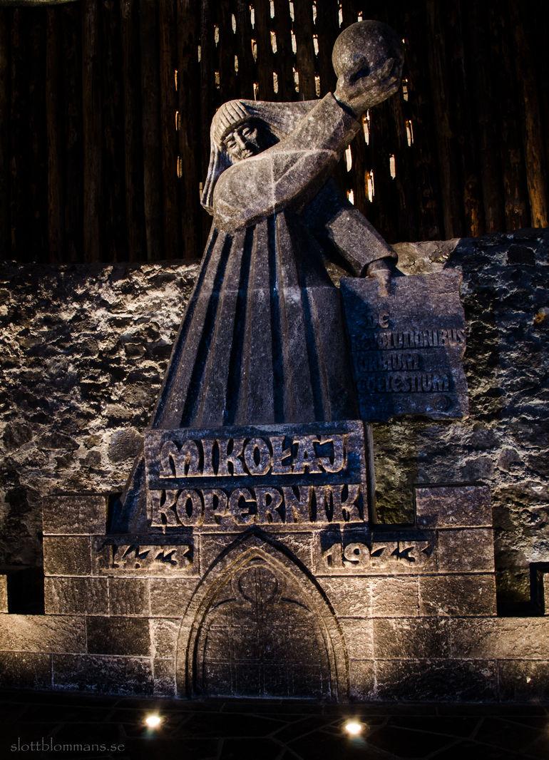 Saltgruvan i Wieliczka - Krakow