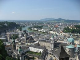 A view of Salzburg - June 2009