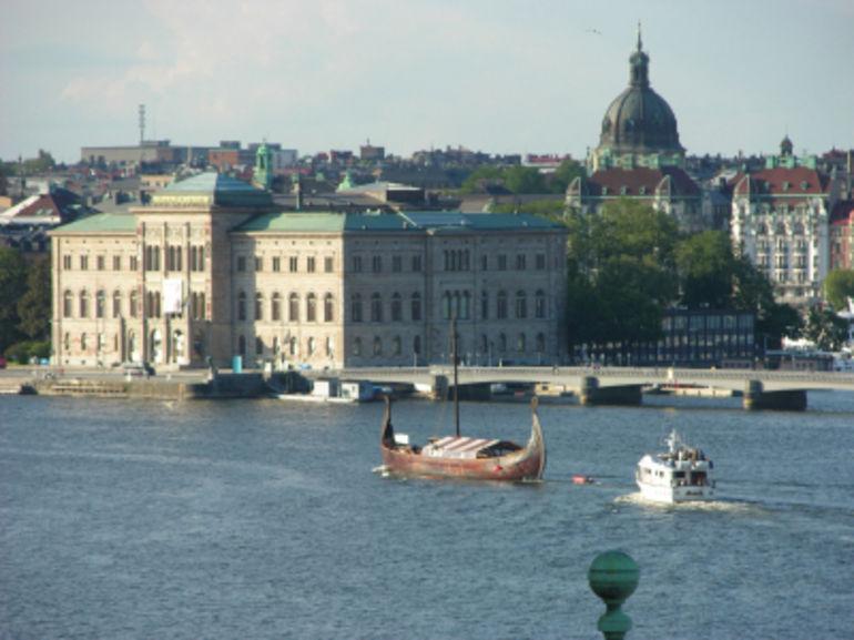 Stockholm Harbor - Stockholm
