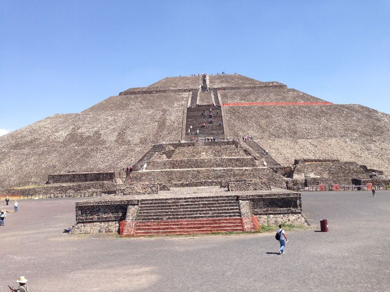 Teotihuacan Pyramids - Mexico City