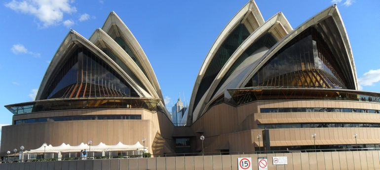 The Sydney Harbor Opera House - Sydney