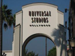 Main gate at Universal Studios Hollywood - November 2012
