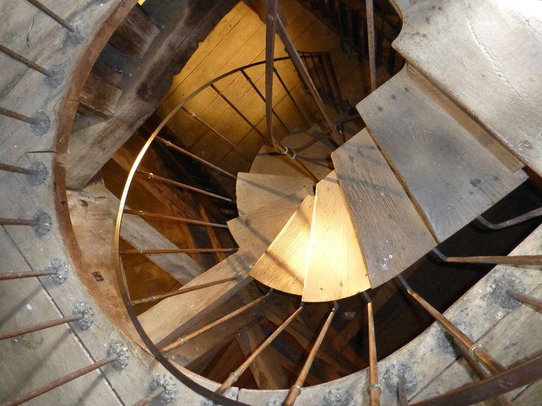 Vaux le Vicomte Stairs to the Dome - Paris