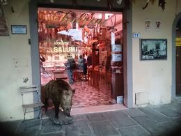 Interesting butcher shop , Pauline T - November 2016