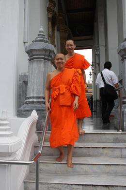 Monks with Kasem in background , tony.hamer88 - April 2017