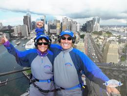 It felt incredible to be 341 meters above the Sydney harbor! , dmdm53 - August 2017