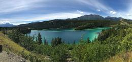Emerald Lake in the Yukon. Our turn around point. , Robert S - August 2017