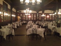 We took a tour of Antoine's many dining rooms, including this room where the photos are hung of all the celebrities who have eaten there over the years. , Leah - June 2014