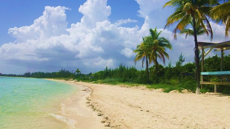 beach on Freeport tour - Caribbean