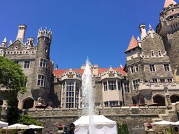 Casa Loma fountain , Kathryn L - July 2016