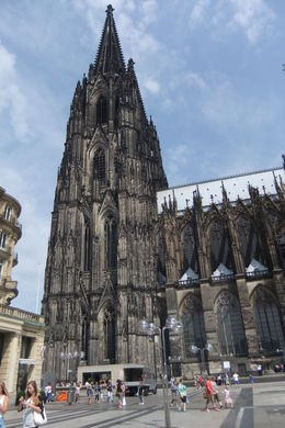 Side View of Cologne Cathedral , Mario S - July 2014