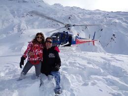 Ma fille Camille et moi lors du and quot;posé and quot; sur la neige, trop génial !!! , Gaëtan E - August 2014