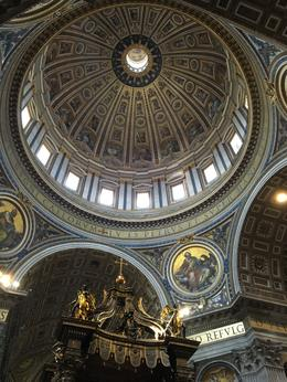 Dome of St. Peter's , Julia E - August 2016
