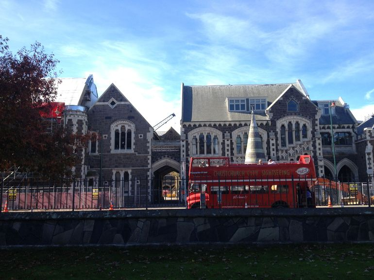 Double-decker bus - Christchurch