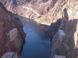 View of the water after it leaves the Dam., Chante W - December 2009