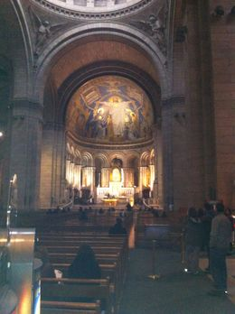 The only picture i took inside Sacre Coeur..a wonderful place !! , I G - May 2011