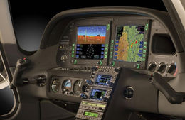 The controls have digital displays to make navigation easy. - March 2015