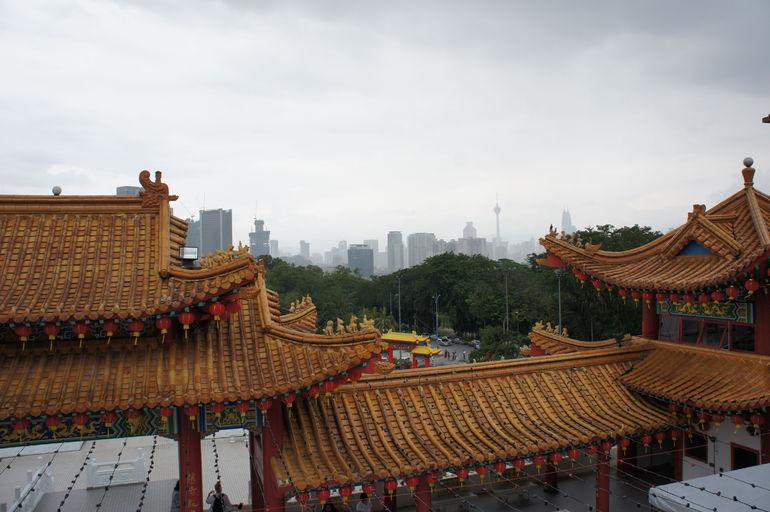 Kinesiskt tempel - Kuala Lumpur
