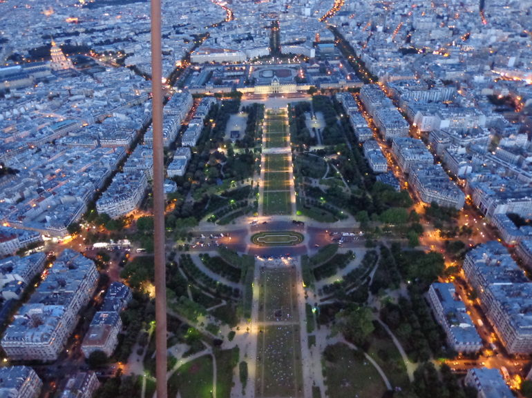 Lights over the Champ de Mars - Paris