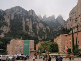 Monastery and Mountains, Denson H - August 2010