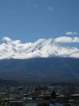 Mt. Fuji from bus, Shalmi P - November 2009