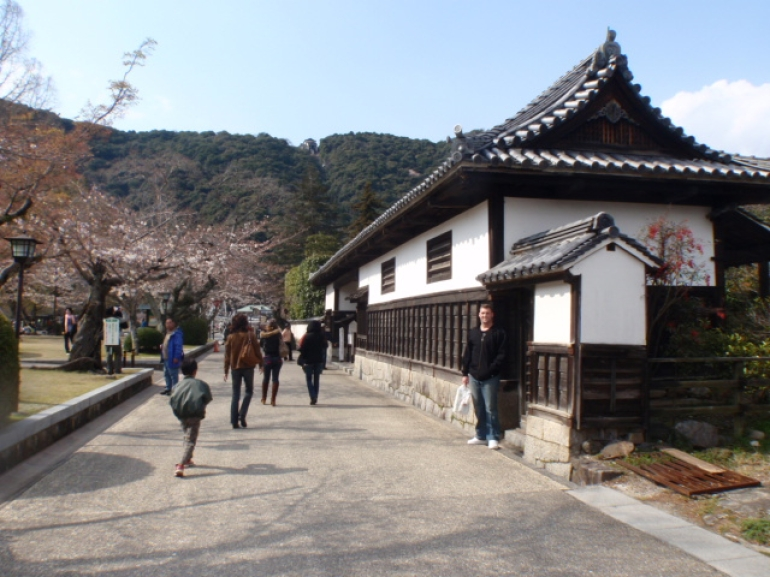 one of the many traditional houses - Osaka
