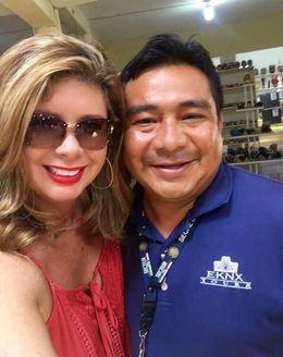 Photo of Carlos and I. , Elise R - May 2016