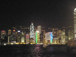Hong Kong Harbour light show - March 2012 , HEATHER F - April 2012