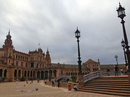 This was taken in Plaza De Espana, Seville , Rochelle K - October 2013