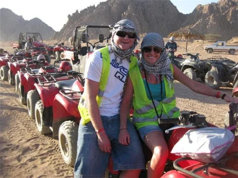 Quad Biking in the Egyptian Desert - Sharm el Sheikh