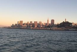 San Francisco at sunset. , Dustin H - August 2016