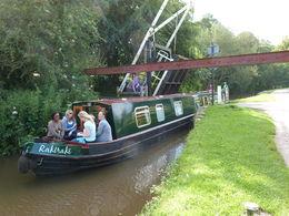 Enjoying the sunshine on the narrowboat, sarahm - April 2013