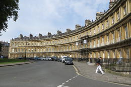THe Crescents in Bath , Diane G - July 2017