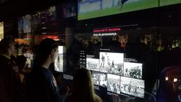 Interactive screens to see historical videos , Patrick H - July 2017