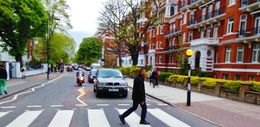 My guide Bob made a stop at Abby Road and made sure I got a perfect picture crossing. , Antonio P - May 2015