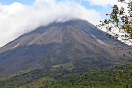 view of arenal volcano once you get to the national park , Sovannak B - March 2013