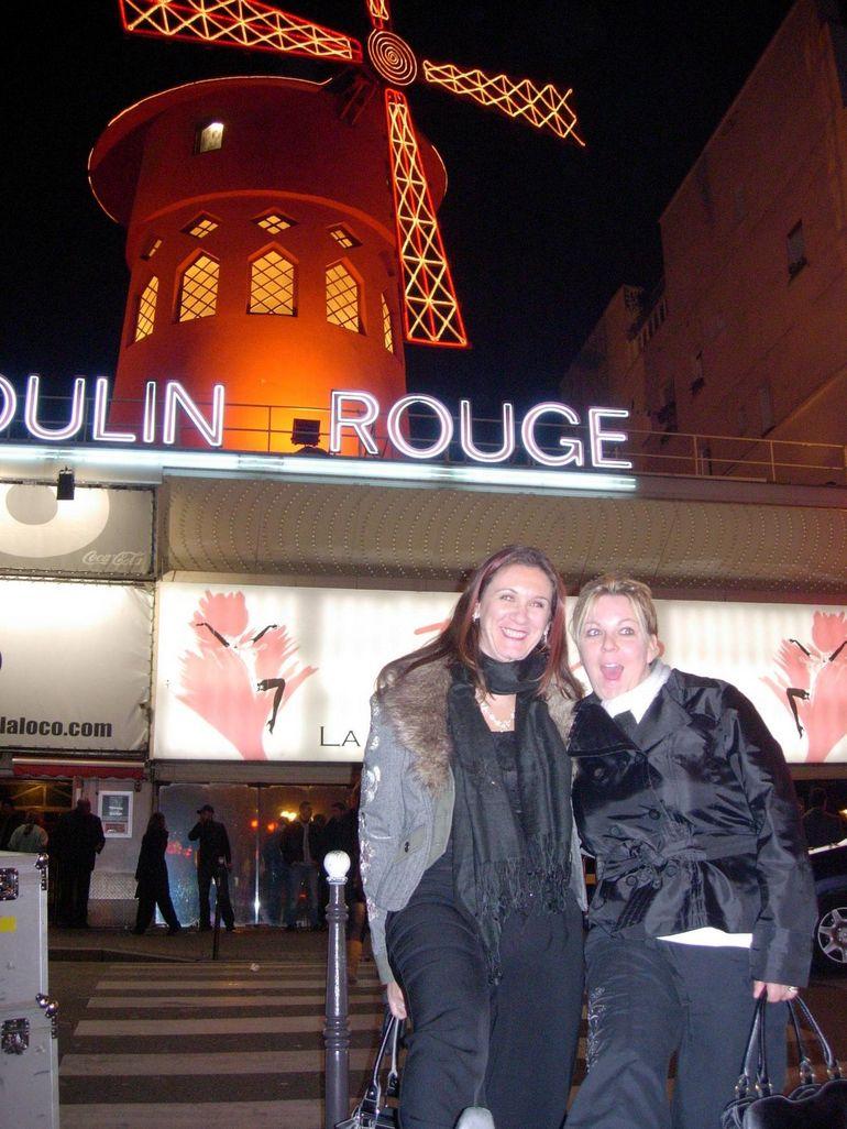 Atfer the Moulin Rouge show - Paris