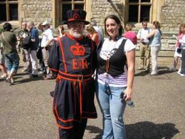 Event though we left the tour guided by a beefeater, they are walking around the tower grounds, and are at various points throughout the grounds. They are very knowledgeable and will kindly take a ... , Cherie B - June 2009