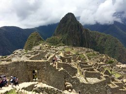 Standing above Machu Picchu city. , Timothy M - November 2015