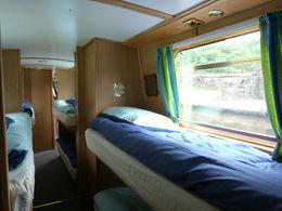 The comfortable bunk beds, sarahm - April 2013