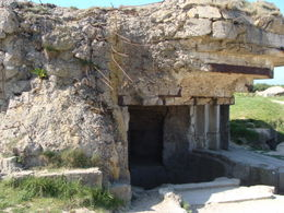 A Blown Out German Bunker , Richard P - June 2012