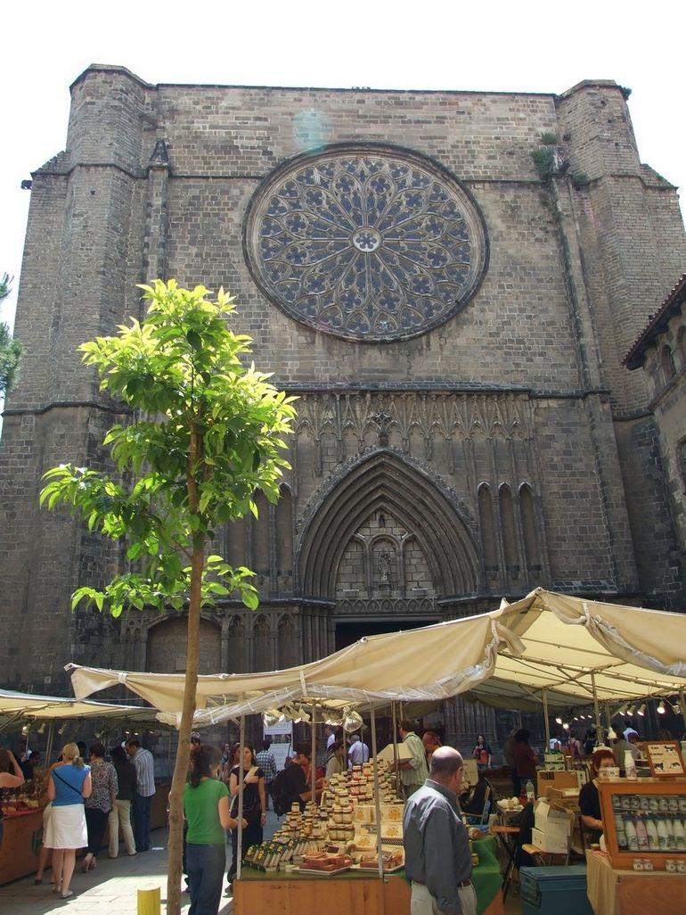 Eglesia de Santa Maria del Pi - Barcelona